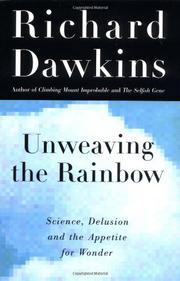 Cover art for UNWEAVING THE RAINBOW