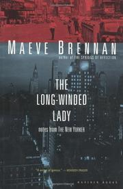 THE LONG-WINDED LADY by Maeve Brennan