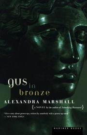GUS IN BRONZE by Alexandra Marshall