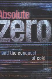 Cover art for ABSOLUTE ZERO AND THE CONQUEST OF COLD