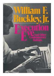EXECUTION EVE by William F. Buckley Jr.
