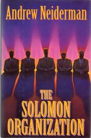 THE SOLOMON ORGANIZATION by Andrew Neiderman