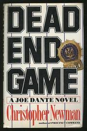 DEAD END GAME by Christopher Newman
