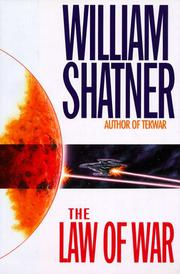 Cover art for THE LAW OF WAR
