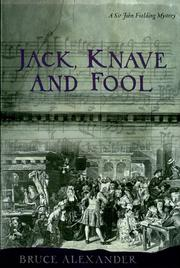 Cover art for JACK, KNAVE AND FOOL
