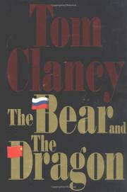 Cover art for THE BEAR AND THE DRAGON