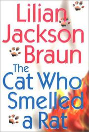 Cover art for THE CAT WHO SMELLED A RAT