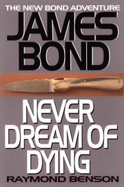 Book Cover for NEVER DREAM OF DYING