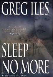 Cover art for SLEEP NO MORE