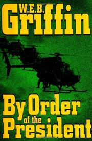 Book Cover for BY ORDER OF THE PRESIDENT