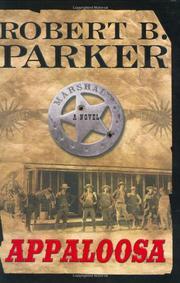 APPALOOSA by Robert B. Parker