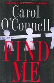 FIND ME by Carol O'Connell