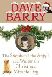 Book Cover for THE SHEPHERD, THE ANGEL, AND WALTER THE CHRISTMAS DOG