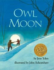 Book Cover for OWL MOON