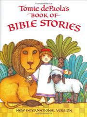 TOMIE DePAOLA'S BOOK OF BIBLE STORIES by Tomie dePaola
