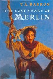 Cover art for THE LOST YEARS OF MERLIN