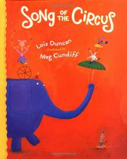 SONG OF THE CIRCUS by Lois Duncan
