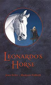 Cover art for LEONARDO'S HORSE