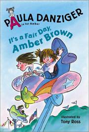 IT'S A FAIR DAY, AMBER BROWN by Paula Danziger