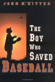 Cover art for THE BOY WHO SAVED BASEBALL