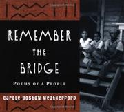 Cover art for REMEMBER THE BRIDGE