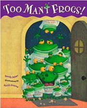 Cover art for TOO MANY FROGS!