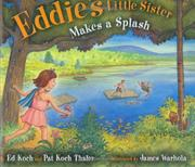 Book Cover for EDDIE'S LITTLE SISTER MAKES A SPLASH