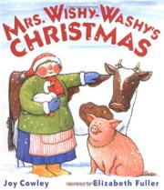Cover art for MRS. WISHY-WASHY'S CHRISTMAS