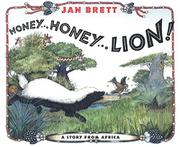 Book Cover for HONEY...HONEY...LION!
