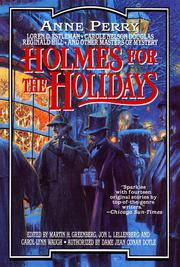 Book Cover for HOLMES FOR THE HOLIDAYS
