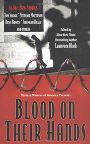 BLOOD ON THEIR HANDS by Lawrence Block
