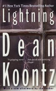 LIGHTNING by Dean R. Koontz