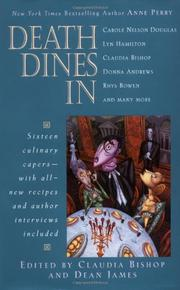 DEATH DINES IN by Claudia Bishop