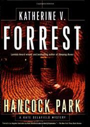 HANCOCK PARK by Katherine V. Forrest