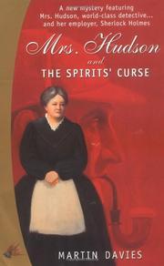 MRS. HUDSON AND THE SPIRITS' CURSE by Martin Davies