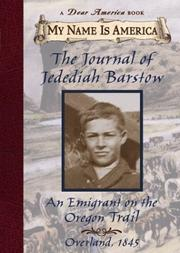 THE JOURNAL OF JEDEDIAH BARSTOW by Ellen Levine