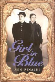 GIRL IN BLUE by Ann Rinaldi
