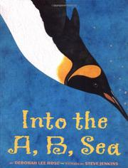 Cover art for INTO THE A, B, SEA