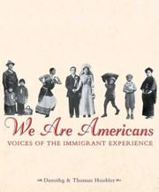 WE ARE AMERICANS by Dorothy Hoobler