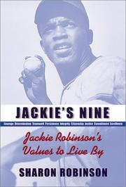 JACKIE'S NINE by Sharon Robinson