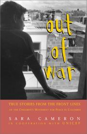 OUT OF WAR by Sara Cameron