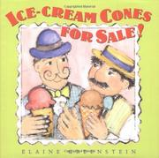 ICE-CREAM CONES FOR SALE! by Elaine Greenstein