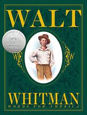 Book Cover for WALT WHITMAN