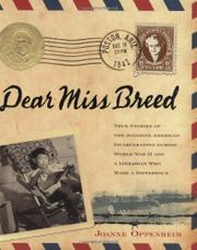 DEAR MISS BREED by Joanne Oppenheim