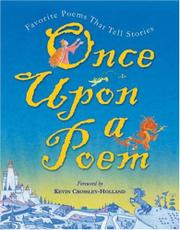 ONCE UPON A POEM by Kevin Crossley-Holland