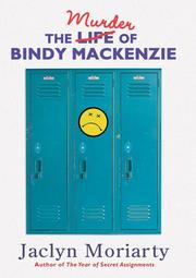 Cover art for THE MURDER OF BINDY MACKENZIE