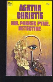 Book Cover for MISTER PARKER PYNE, DETECTIVE