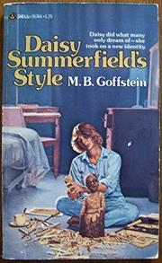 DAISY SUMMERFIELD'S STYLE by M.B. Goffstein