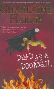 Cover art for DEAD AS A DOORNAIL