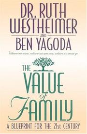 THE VALUE OF FAMILY by Ruth K. Westheimer